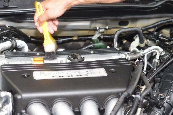 Limpeza de motor a seco