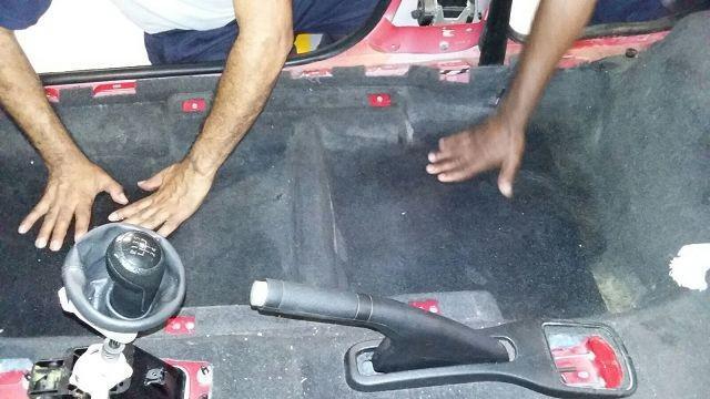 Recuperação de carros alagados