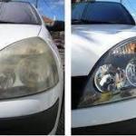 Revitalização de farol automotivo